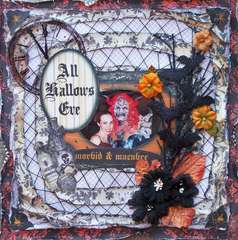 Scraps of Darkness *Oct Kit* ~ All Hallows Eve