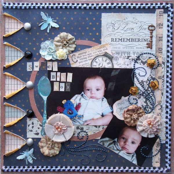 Scraps of Darkness *Feb Kit* ~ Sweet Baby Boy