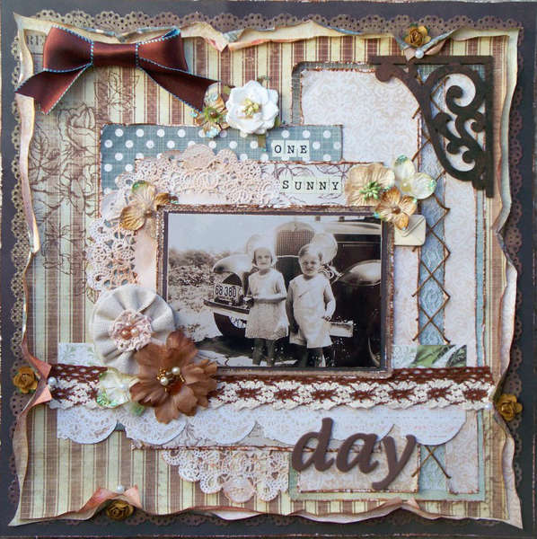 One Sunny Day ~ Scraps of Elegance