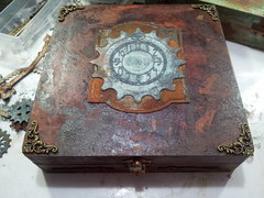 Steampunk Cigar Box