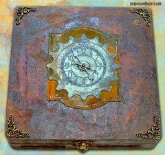 Steampunk Cigar Box