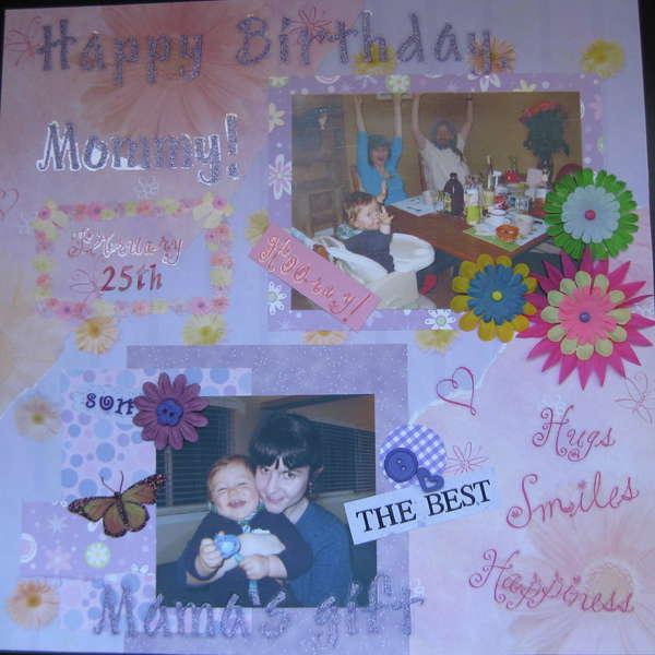My Mommy's Birthday