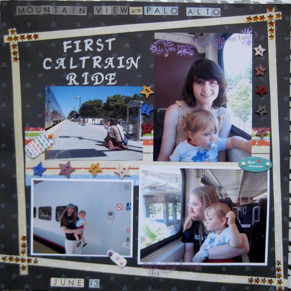 First Caltrain ride