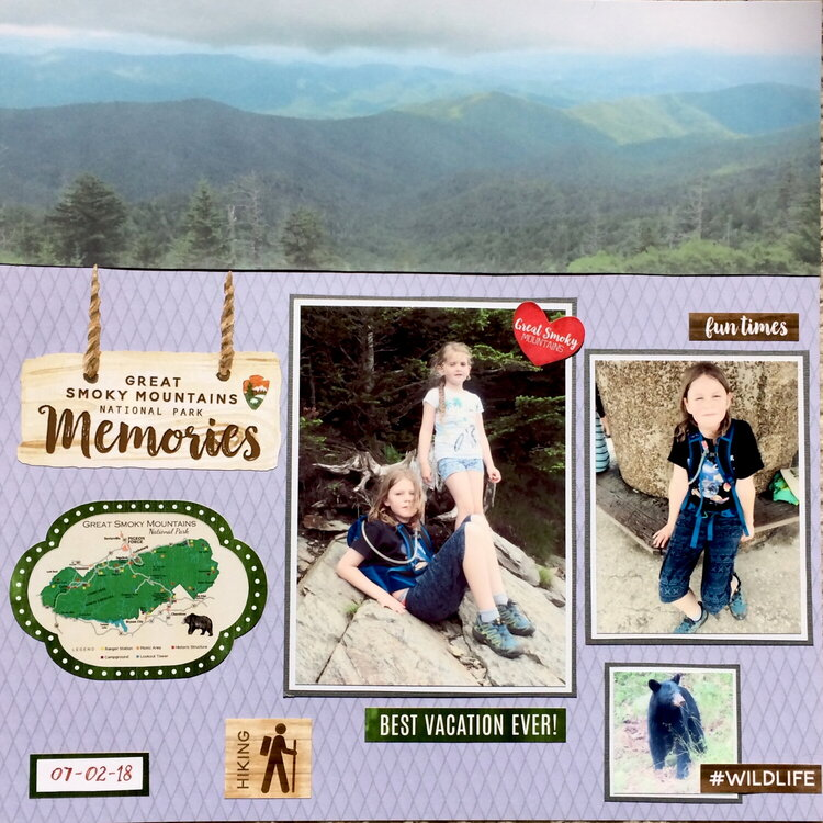 The Great Smoky Mountains National Park, Page 1
