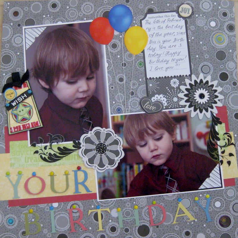 Your Birthday (3 years)