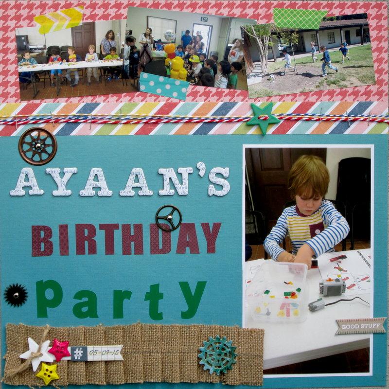 Classmate's (Ayaan's) Birthday Party