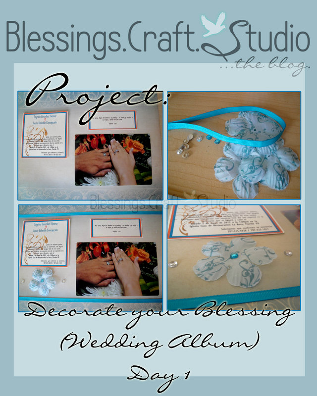 "Project ""Decorate your Blessing"" Wedding Album - Day 1"