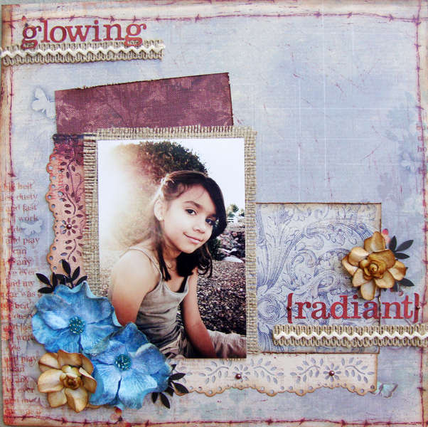 Glowing**SCRAP THAT! August Kit**