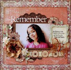 Remember**SCRAP THAT October Kit**