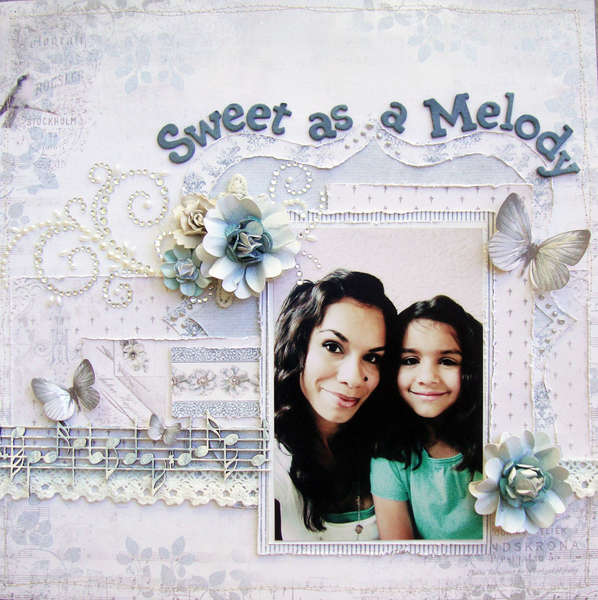 "Sweet as a Melody**SCRAP THAT! Exclusive Pion Design ""Birdsong"" Kit**"