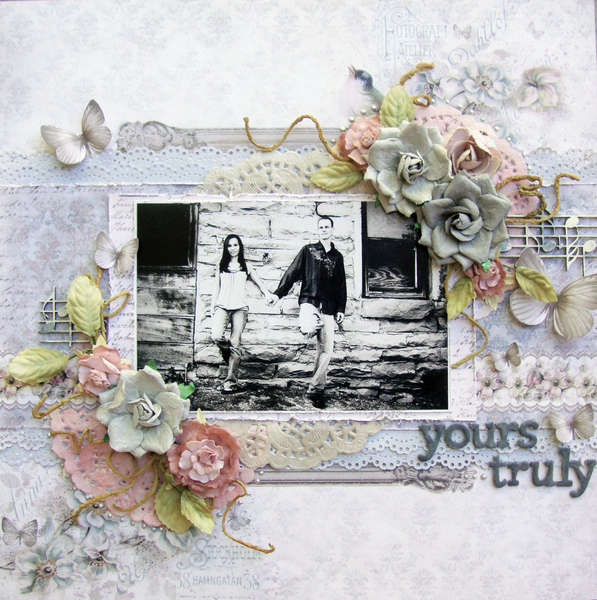"Yours Truly**SCRAP THAT! Exclusive Pion Design ""Birdsong"" Kit**"