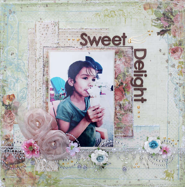 Sweet Delight**SCRAP THAT Oct Bella Rose Kit Feat. Prima Romantique**