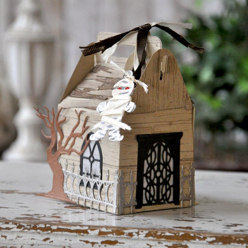 Spooky Cottage Gable Box