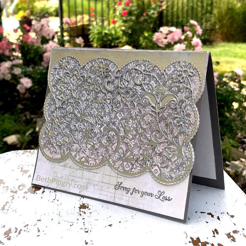 Lacey Sympathy card