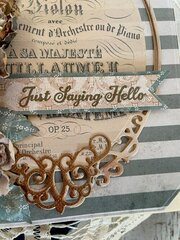 Just Saying Hello Card