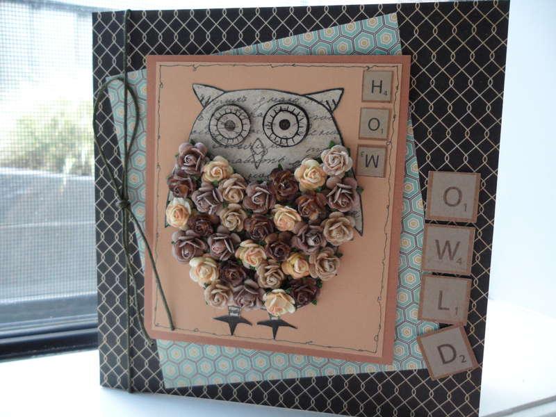 hoo owl'd? - old farts birthday card!
