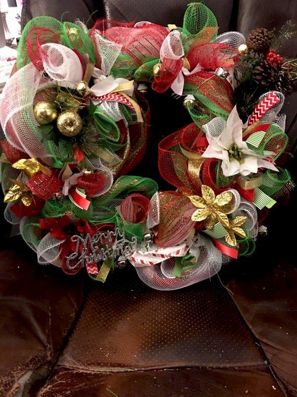 Second Christmas Wreath