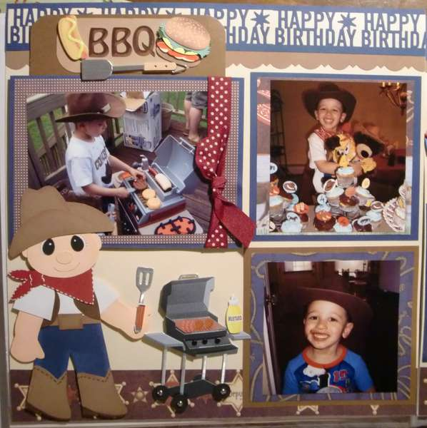 Cowboy Themed BBQ B-Day Party