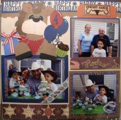 PAge 2 of CowBoy BBQ B-Day Party