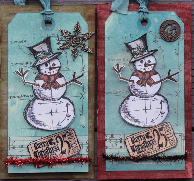 CHRISTMAS CARDS- HOLTZ DEC CARD