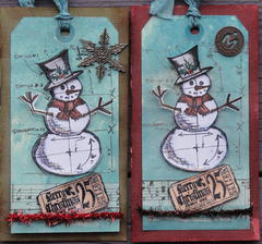 CHRISTMAS CARDS- HOLTZ DEC CARD