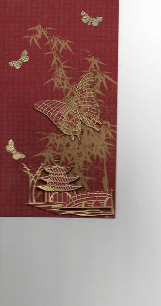 3-d chines card