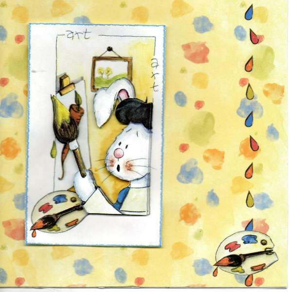 a 3-d craft card