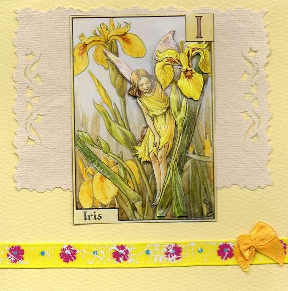3-d fairy card