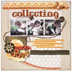 Collecting shells *American crafts*