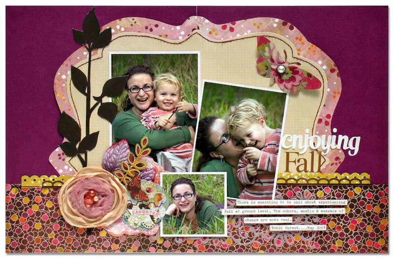 Enjoying Fall *Cocoa Daisy*