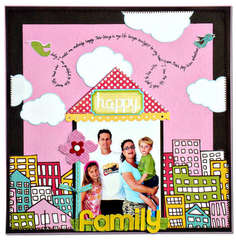 Happy family *American crafts*
