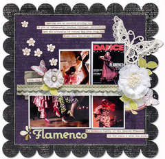 Flamenco *NEW Pink Paislee*