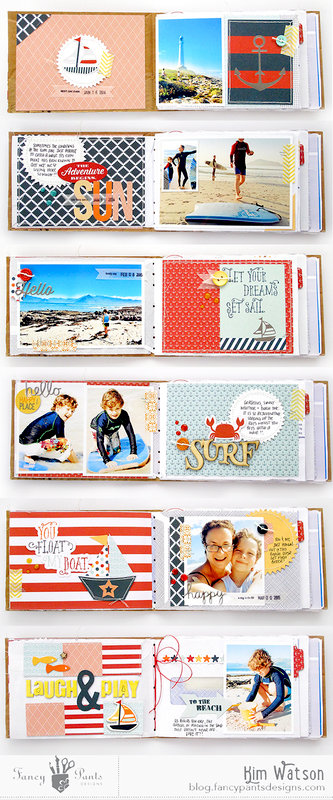 Summer mini book *Fancy Pants Designs*