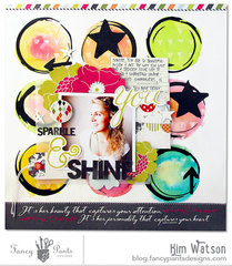 Sparkle & Shine *Fancy pants Designs*