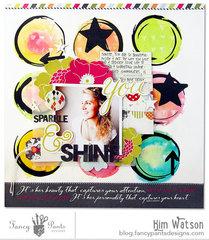 Sparkle & Shine *Fancy pants Designs*
