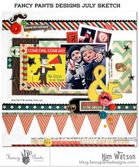 Welcome to the Circus *Fancy pants Designs*