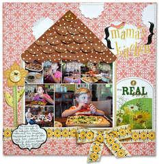 Mama's Kitchen *Cocoa Daisy & American crafts*