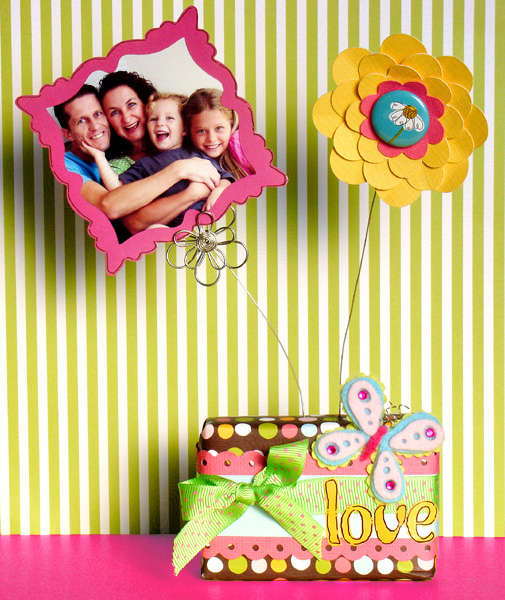 Love photo holder *American crafts*
