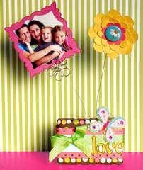 Love photo holder *American crafts*