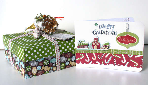 Teachers gift box & card *American Crafts*