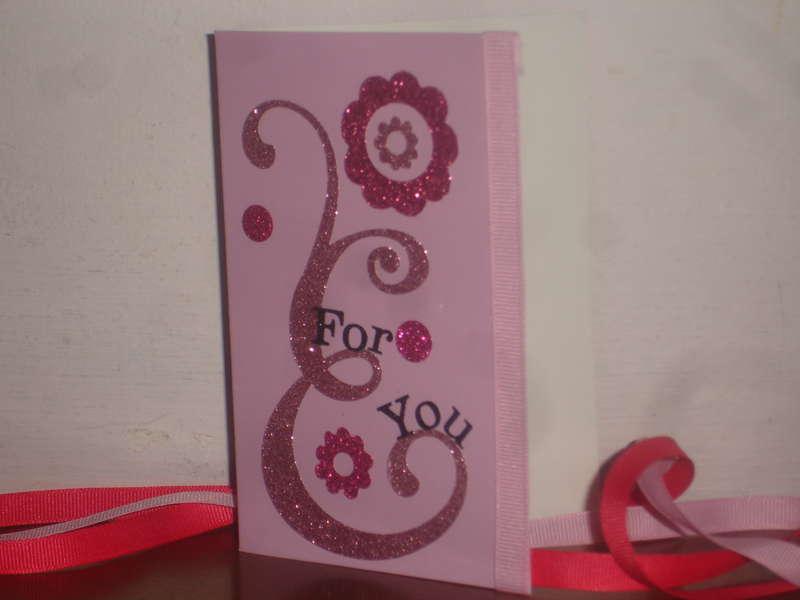 Sparkly Card