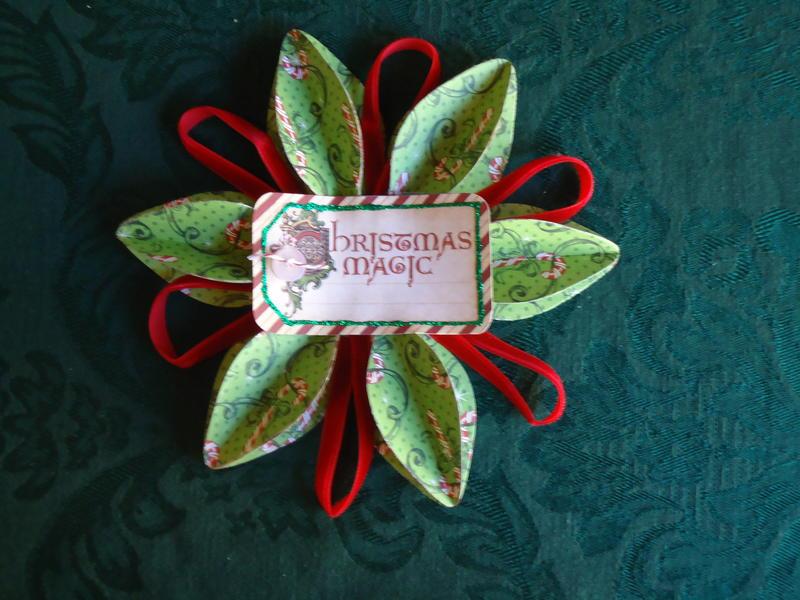 Graphic 45 Nutcracker Sweet Ornament Swap