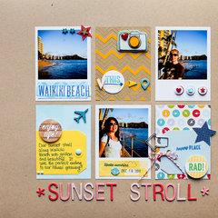 Sunset Stroll (Write.Click.Scrapbook.)