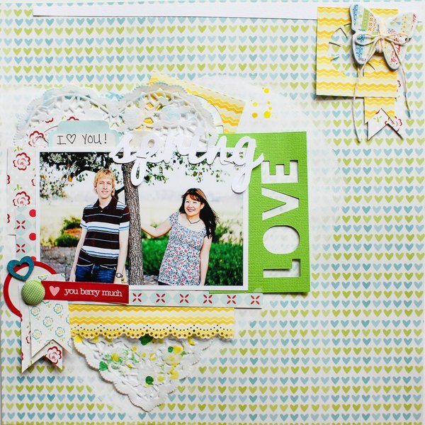 Spring Love *Lily Bee Design*