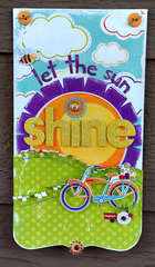Let the sun shine banner