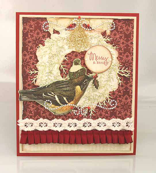 Merry & Bright Christmas card *Zva Creative*
