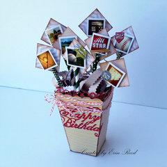 Baseball Birthday Box **video** Xyron w/DCWV & Die~Namites & Paper House
