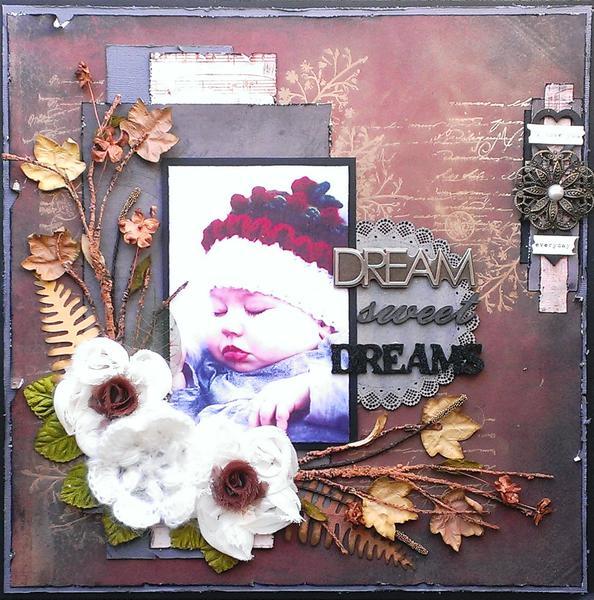 Dream Sweet Dreams **Memory Maze Chipboard**