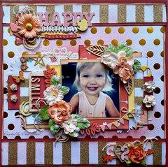 Happy Birthday Catherine **Birds of a Feather Kit**