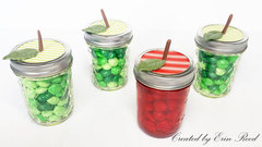 Candy Apple Jars w/video